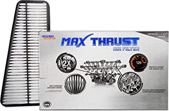 Spearhead MAX THRUST Performance Engine Air Filter For Low & High Mileage Vehicles - Increases Power & Improves Acceleration (MT-683)