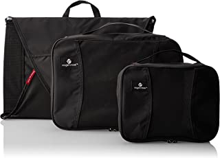 Eagle Creek Travel Gear Luggage Pack-it Starter Set, Black