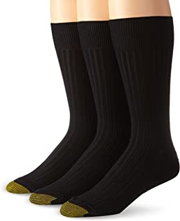 Men's Classic Canterbury Crew Socks (Pack of 3), Shoe...