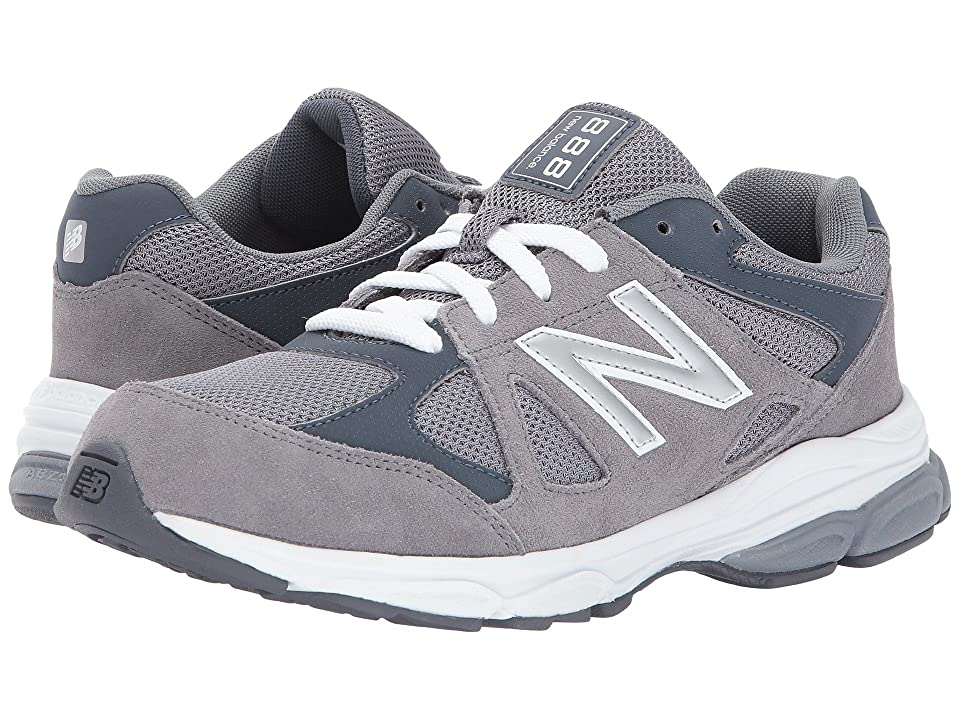 New Balance Kids KJ888v1 (Infant/Toddler) (Grey/White) Boys Shoes