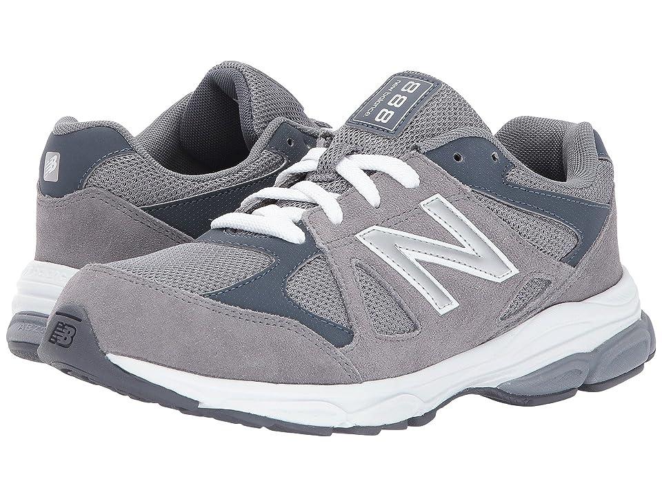 New Balance Kids KJ888v1 (Infant/Toddler) (Grey/White) Boys Shoes