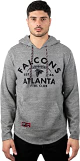 Ultra Game NFL Men`s Vintage Soft Fleece Pullover Hoodie Sweatshirt