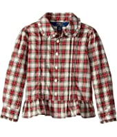 Polo Ralph Lauren Kids - Tartan Cotton Shirt (Toddler)