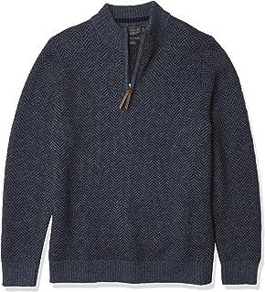 Men's Shetland Quarter-Zip Sweater