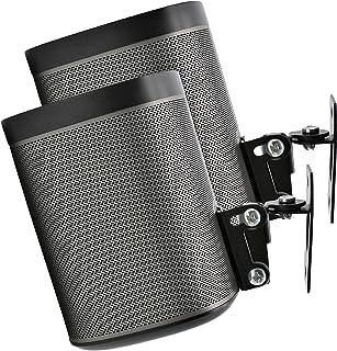 2 x SONOS PLAY 1 väggmontering, tvåpack, (ej kompatibel med SONOS ONE) justerbar vrid- och lutningsmekanism, 2 fästen för ...