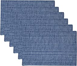 """Sweet Home Collection Trends Two Tone 100% Cotton Woven Placemat, 10""""x19"""""""