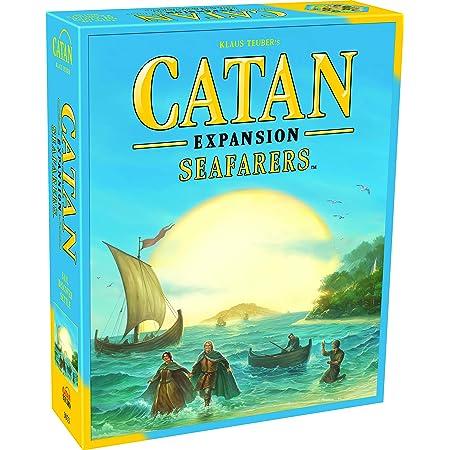 Catan Seafarers ボードゲーム 拡張   ファミリーボードゲーム   大人と家族のためのボードゲーム   アドベンチャーボードゲーム   対象年齢10歳以上   3~4人用   平均プレイ時間 60分   カタンスタジオ製