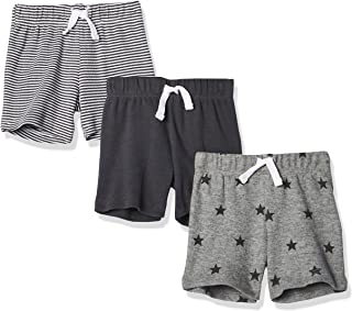 Amazon Essentials 3-Pack Pull-on Short Bébé garçon