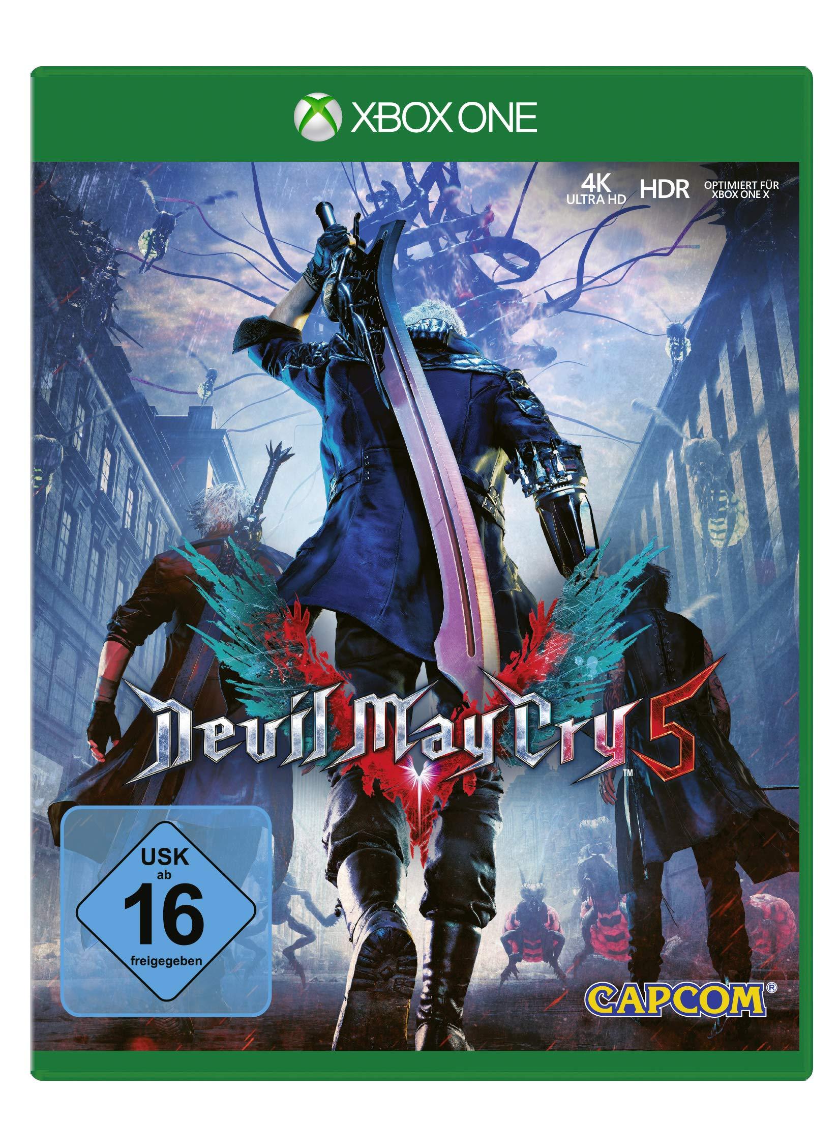 Devil May Cry 5 [Xbox One ] [Importación alemana]: Amazon.es ...