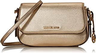 MICHAEL KORS Womens Large Flap Xbody Bag, Pale Gold - 32H9G06C7M