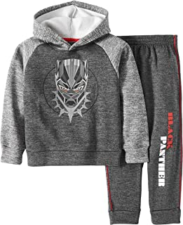 Black Panther Little Boys Pullover Hoodie & Jogger Set