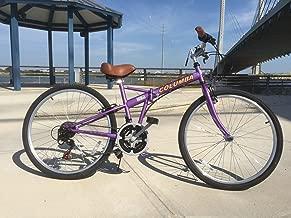 Columba 26 Inch Folding Bike 18 Speed Lavender (SP26S_LVD)