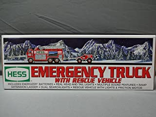 Hess Toy Rescue Truck 1994