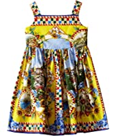 Dolce & Gabbana Kids - Printed Dress (Toddler/Little Kids)