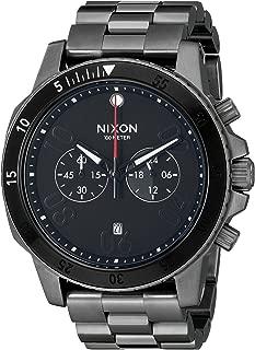 Nixon Men's A5491531-00 Ranger Chrono Analog Display Quartz Grey Watch