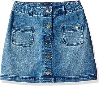 be girl denim skirts