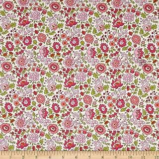 Liberty Fabrics 0548431 Tana Lawn D'Anjo Pink Fabric by The Yard
