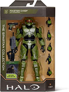 """Halo 6.5"""" Spartan Collection – Master Chief Highly Articulated, Poseable with Weapon Accessories - Scaled to Play & Displa..."""