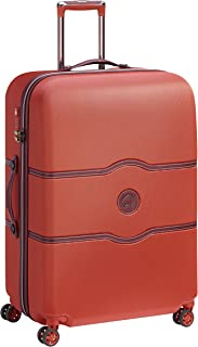 Delsey Paris Chatelet Air 77 cm 4 Double Wheels Trolley Suitcase (Softside), Terracotta (00167282035)
