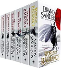 The Stormlight Archive Series 6 Books Collection Set by Brandon Sanderson (Words of Radiance Part 1 & 2, The Way of Kings ...