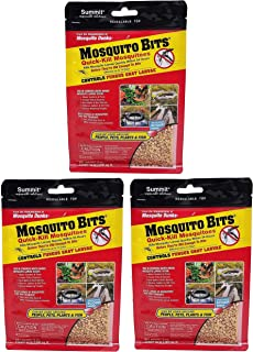 Summit 116-12 Quick Kill Mosquito Bits, 8-Ounce (3 Bottles)