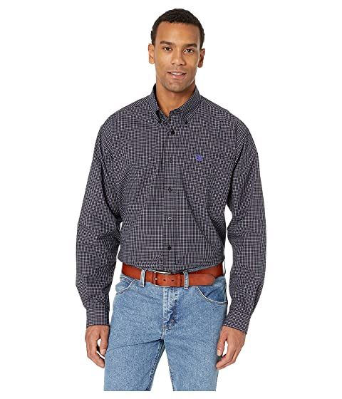 Cinch Men's Long Sleeve Plaid Shirt