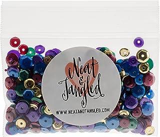 Neat & Tangled Jewel Tones Sequin Mix Set, Multi-Colour, 4.06 x 7.62 x 1.27 cm