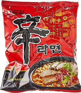 Nongshim Shin Noodles, 120g, (Pack of 30)