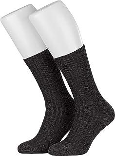 Piarini, Calcetines noruegos mullidos - Aptos para diabéticos - Sin elásticos - Varios colores y tallas grandes