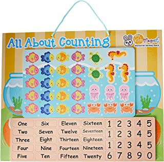 My Kids Magnet All About Counting Magnetic Board, 40 cm Length x 32 cm Width