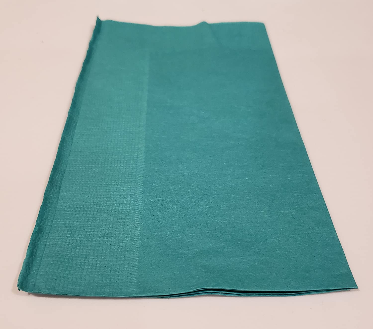 Choice 15  x 17  Teal 2-Ply Paper Dinner Napkin - 125 Pack