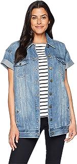 Women's Rolled Sleeve Blue Jacket