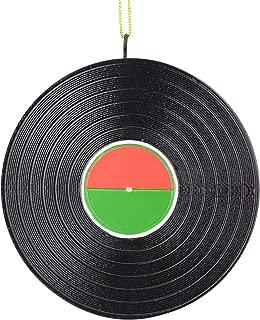 Tree Buddees Retro Vinyl Record Unique Music Records Christmas Ornaments