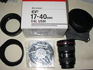 Canon EF 17-40mm f/4L USM Ultra Wide-Anngle Lens
