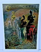 Salvador Dali Poster The Hallucinogenic Toreador 15x12 Offset Lithograph