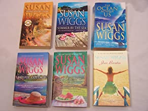 Susan Wiggs 6 Paperback Set: Home Before Dark, Summer By the Sea,the Ocean Between Us, Lakeside Cottage, Table of Five, Just Breathe