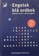 Engelsk Bla Ordbok: Engelsk-norsk/norsk-engelsk (Kunnskapsforlaget Edition)