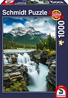 Schmidt 58360 Athabasca Falls-Canada Jigsaw Puzzle (1000 Piece), Various