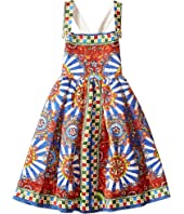 Dolce & Gabbana Kids - Wheel Crisscross Back Dress (Toddler/Little Kids)