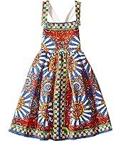 Dolce & Gabbana Kids - Wheel Crisscross Back Dress (Toddler/Little Kids)