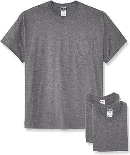 Jerzees Men's Adult Short-Sleeve Pocket T-Shirts (3-Pack)