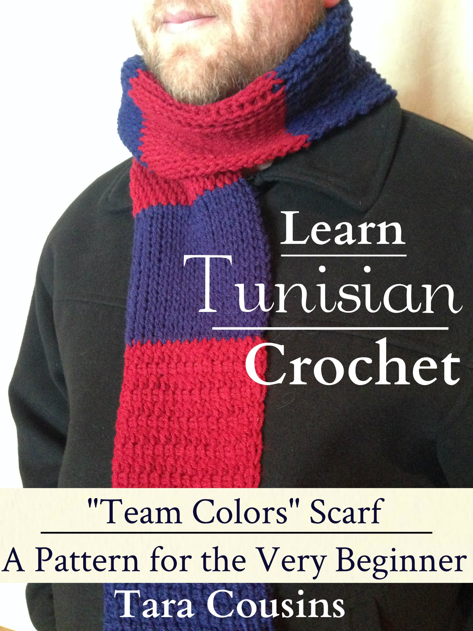 Crochet Team Scarf – Only New Crochet Patterns