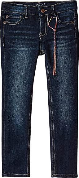 Zoe Five-Pocket Skinny Jeans in Barrier Wash (Little Kids)