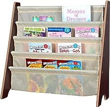 Naomi Home Kids Toy Sling Bookrack Espresso/Cream