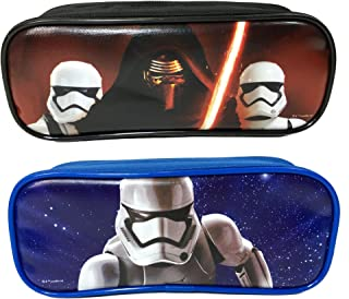 Disney Star Wars Pencil Case/Pouch Cute Design Set of 2