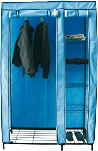 MSV Armadio 110x 46x 178cm Blu