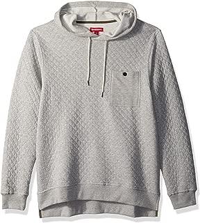 UNIONBAY Men's Quilted Fleece Hoodie Sweatshirt