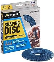 "Kutzall Extreme Shaping Disc - Grof, 4-1 / 2"" (114.3mm) Diameter X 7/8"" (22.2mm) Bore - Houtbewerking haakse slijper Attac..."