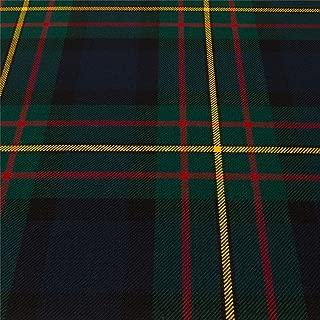 Light Weight 10oz Fabric Material Maclaren Modern Tartan 1 Metre