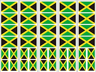 40 Tattoos: Jamaica Flag, Jamaican Party Favors